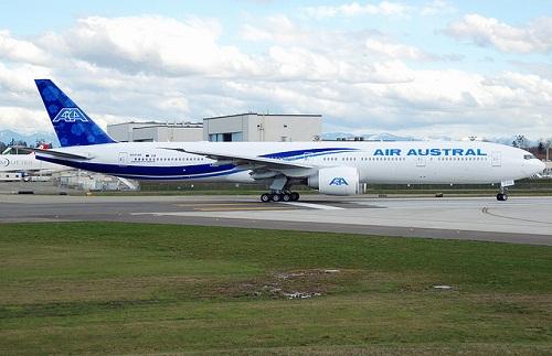 Destinations desservies par air austral
