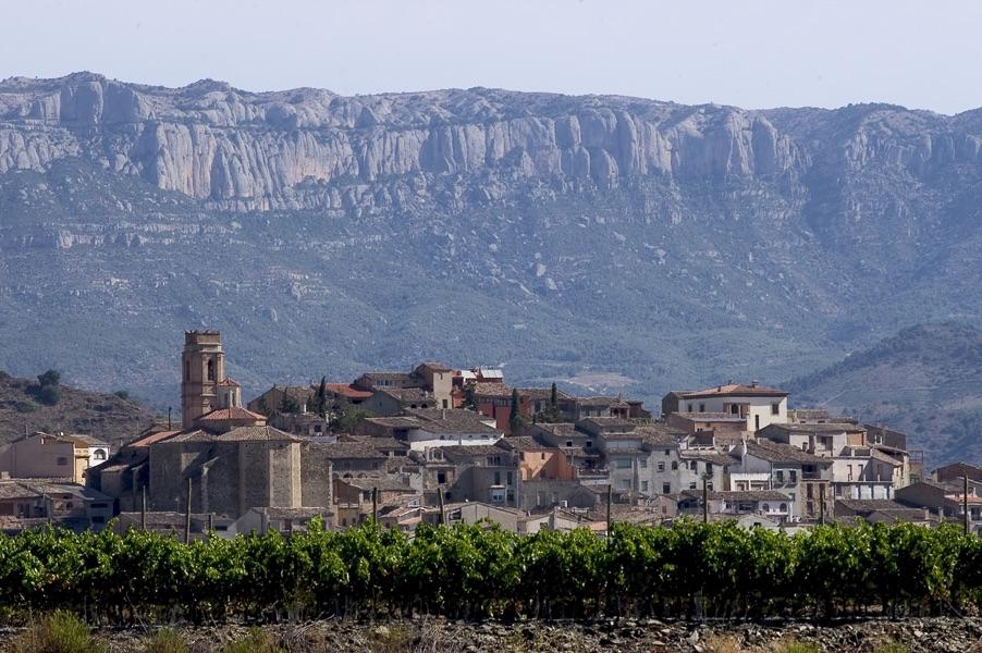 Village de Gratallops dans le Priorat